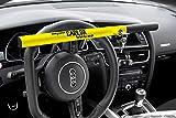 Kleinmetall Carlok Auto Diebstahlsicherung Lenkradkralle Absperrstange (Gelb)