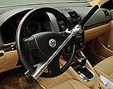 FREESOO Auto Steering Wheel Lock Auto Anti Theft Lock Safety Diebstahlsicherung Lenkradkralle Lenkradschloss Lenkradsperre...